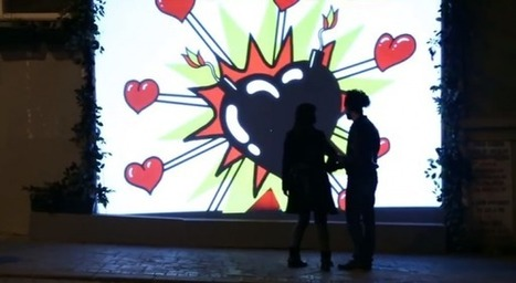 Coca Cola célèbre la Saint Valentin avec un distributeur visible uniquement par les couples | streetmarketing | Scoop.it