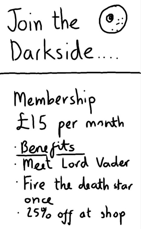 Join the dark side, only £15 per month | Art | Scoop.it