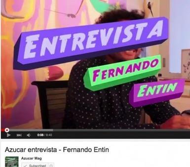 Azucar Mag | Entrevista a Fernando Entin | ELSI DEL RIO Arte Contemporáneo | Scoop.it