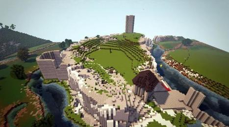 Minecraft. Jeux vidéo, éducation et patrimoine cohabitent à Fougères | SeriousGame.be | Scoop.it