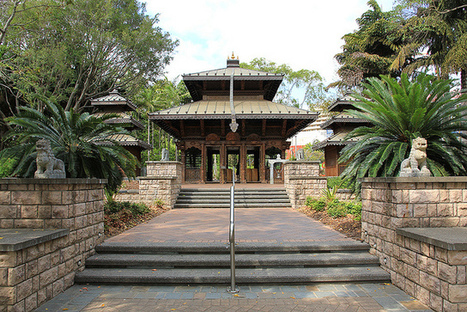 Nepal Peace Pagoda, Brisbane | Nepali Architecture & Urban Planning | Scoop.it