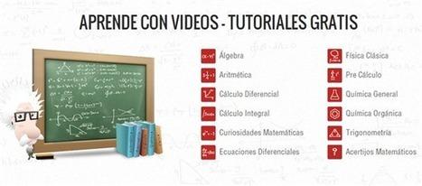 TareasPlus, un portal para aprender Matemáticas, Física y Química con vídeos en español | Ukup1 | Scoop.it