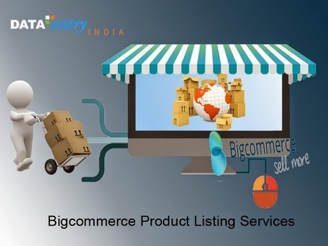 eCommerce Data Entry Solutions: Boost Your Online Business with Bigcommerce Product Listing Services | Catalog Processing & Data Entry Services | Scoop.it