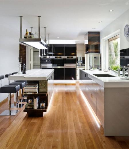 Nuevo diseño y tiras de LED para iluminar la cocina - Casas de iluminación líderes y articulos de decoración   Iluminación interiores   Scoop.it