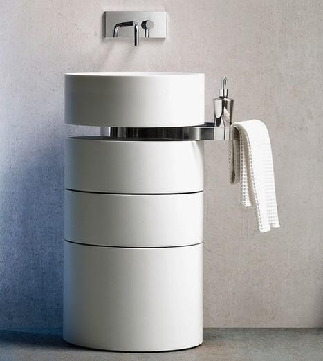 5 mẫu bồn rửa mặt độc đáo cho nhà tắm | Noi that | Scoop.it