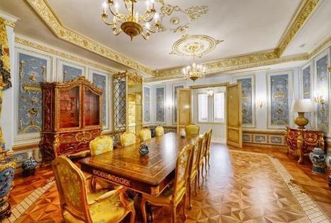Luxury and Spacious Dining Area in an Expensive Russian Estate in Moscow | Simple Decorating Ideas For Home | Scoop.it