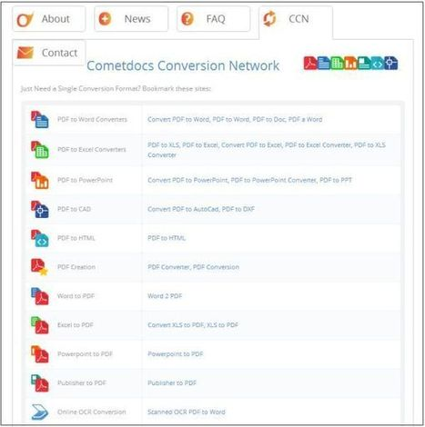 Cometdocs: gratis je documenten online converteren, opslaan en delen   lifehacking   Scoop.it