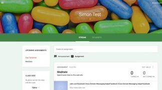 Google Classroom – a very first glance | Educational Apps | Scoop.it