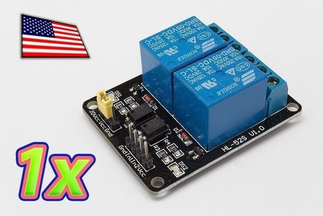 [1x] 2 Channel Relay Module Board and Shield For Arduino, Raspberry PI and MCU | Raspberry Pi | Scoop.it