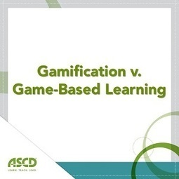 » The Difference between Gamification and Game-Based LearningASCD Inservice | learning by using iPads | Scoop.it