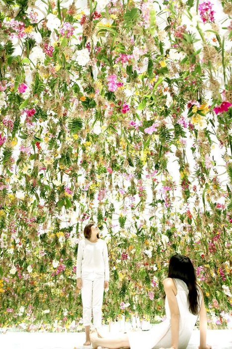 Tokyo's New 'Floating Flower Garden' Is a Beautiful Thing—Which Is Exactly the Problem | Sustainable Futures | Scoop.it