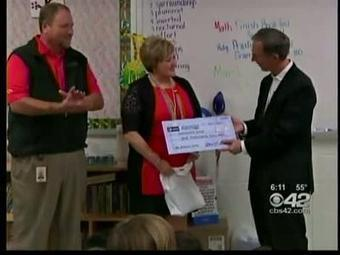 Blount County Teacher Wins CBS42 Grant to start a library   Tennessee Libraries   Scoop.it