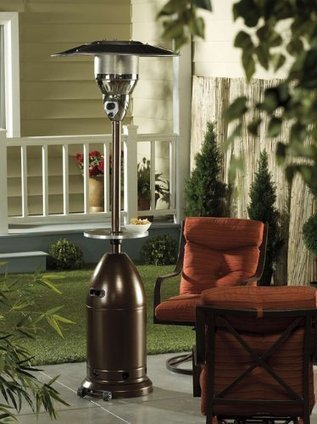 Outdoor Standing Propane Heaters | Porch, Patio and Outdoor Decor | Scoop.it
