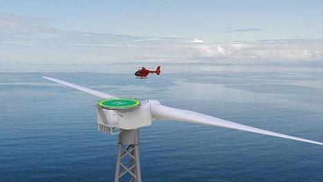 Two-Blade Turbines the Future of Offshore Wind Energy? - The Maritime Executive | Turbines Design & Power | Scoop.it