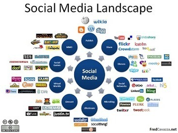 How to Determine Which Social Media Network Fits Your Business - AudienceBloom | Digital | Scoop.it