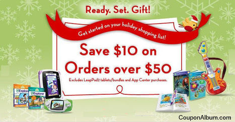 LeapFrog Inspiring Holiday Gifts! | Coupons & Deals | Scoop.it