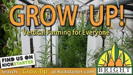Grow Up, will you? | Vertical Aquaponics | Scoop.it