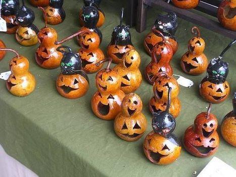 Idées de bricolage pour Halloween : déco, bougies, sac & bonbons | Fiestas & Fêtes pour les petits | Scoop.it