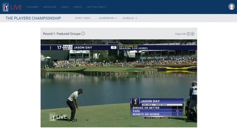PGA Tour's Playoffs Bring Twitter And Facebook Live Stream Test, Relaxed Social Media Rules For Players | SportonRadio | Scoop.it