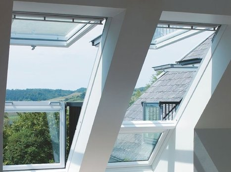 This Roof Window Can Transform Into a Small Balcony «TwistedSifter | 建築 | Scoop.it
