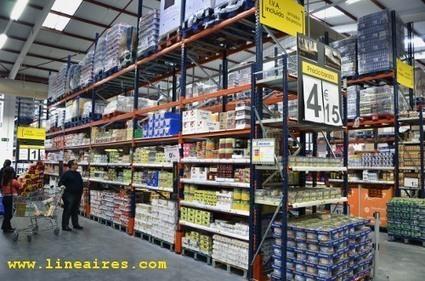 #Supeco : #Carrefour ré-enchante les courses.  Les clients prêts à manier le Manitou...? #réserves #palettes #quais | notre métier le commerce ! | Scoop.it