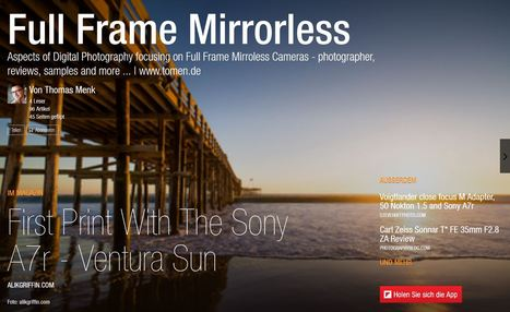 Full Frame Mirrorless Cameras news at Flipboard | Thomas Menk | Full Frame Mirrorless | Scoop.it