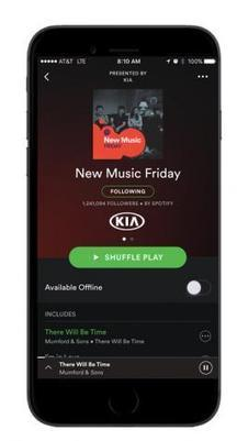 Spotify Opens Its Popular Playlists to Sponsors | MUSIC:ENTER | Scoop.it