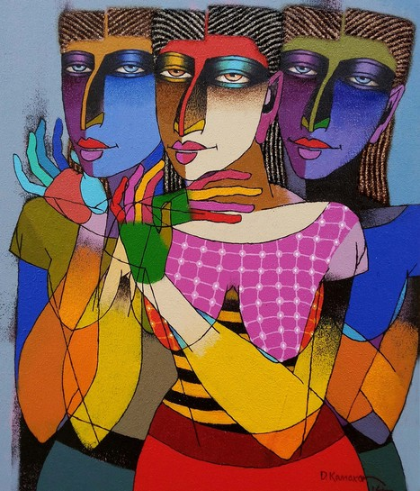 Exciting Indian paintings by Indian artists | Online Art Gallery | Scoop.it