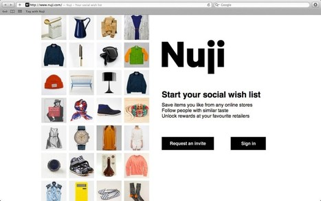 Nuji (Your Social Wish List) = Pinterest + Social Shopping | Le Microbloging en 3.0 ! | Scoop.it