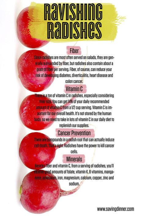"The Health Benefits of Radishes | "" le regimeefficace"" du DOCTEUR HADDAD ""sustainable-diet,"" | Scoop.it"