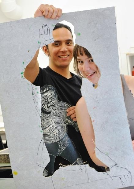 Ottawa School of Art building renovation yields linoleum 'art supplies' for ... - Ottawa Citizen | Printmaking | Scoop.it