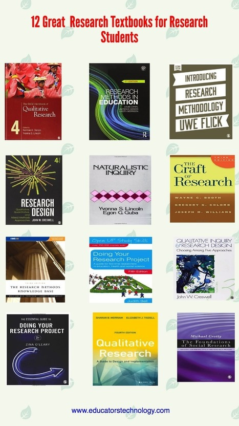 12 Great Research Textbooks for Research Students ~ Educational Technology and Mobile Learning | Wiki_Universe | Scoop.it