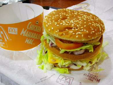 McDonald's Goes Vegetarian — In India | AP Human Geography Education | Scoop.it