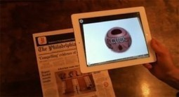 Philadelphia Newspaper Adds Augmented Reality via iPad App | Print Media Centr | Virtual Reality VR | Scoop.it