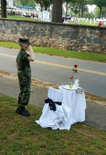#VIRAL 'Cody Jackson Young patriot gives amazing Memorial Day 'Missing Man' tribute' - Allen B. West - AllenBWest.com | News You Can Use - NO PINKSLIME | Scoop.it