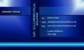 Business card template Sleek | Cheap Business Cards | UK Ecommerce Software Solutions | Online Shopping cart | Scoop.it