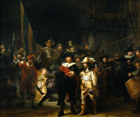 Estudi-Arte: El Arte en la Historia: Rembrandt: La ronda nocturna | Rebollarte | Scoop.it