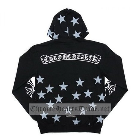 Wholesale Chrome Hearts Star Printed Black Hoodie Cheap [CH#20140211] - $172.00 : Chrome Hearts Trade | Buy Chrome Hearts Online Shop | Headphones Sale Online Cheap Beats By Dre | Scoop.it