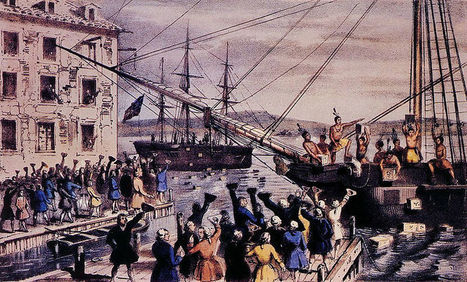 7 Myths about the Boston Tea Party | Journal of the American Revolution | BDHS AP US History | Scoop.it