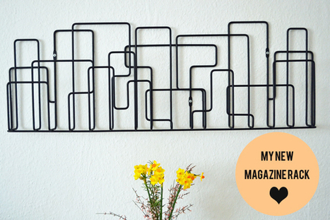 Happy Interior Blog: Interior Styling Idea: My New Magazine Rack | Interior Design & Decoration | Scoop.it