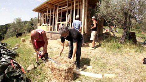 La casa di paglia: il metodo Greb - le ricette di lacucinavegetariana.it | Costruire con le balle di paglia www.caseinpaglia.it | Scoop.it