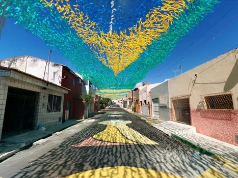 Take A Virtual Tour Of Brazil's Iconic Painted Streets Celebrating The World Cup - Business Insider Australia | Virtual tours, visite virtuelle, google visit pro | Scoop.it