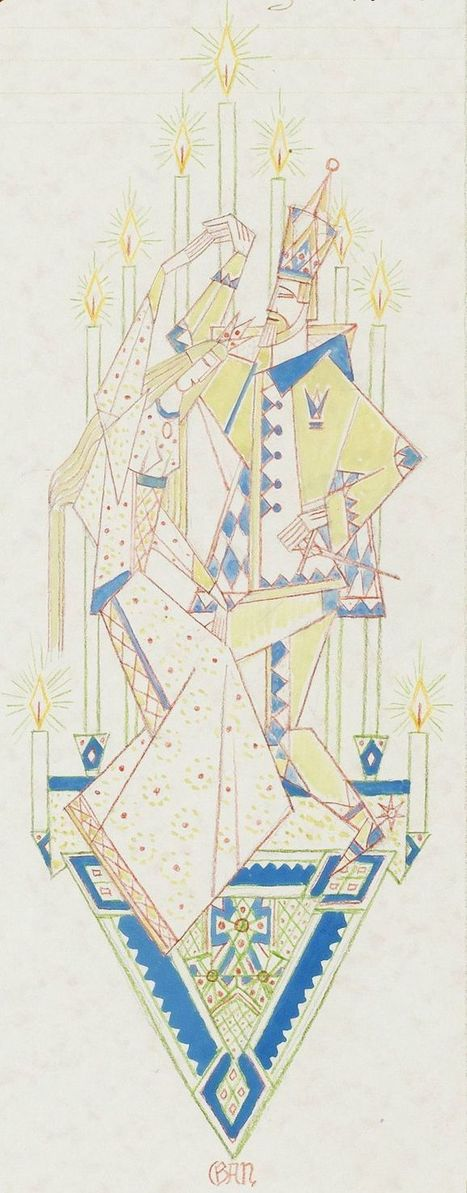 Stunning Early-Twentieth-Century Illsutrations for Scheherazade's Stories and Scandinavian Fairy Tales by Swedish Modernist Art Pioneer GAN | Writers & Books | Scoop.it