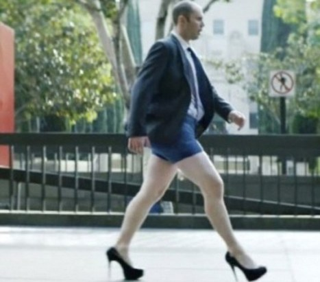 MoneySuperMarket.com's high heels man named most complained advert | Sex Marketing | Scoop.it