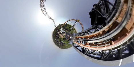 Watch This Roller Coaster Transformed Into 360° Tiny Planet Panorama | The Creators Project | Matmi Staff finds... | Scoop.it