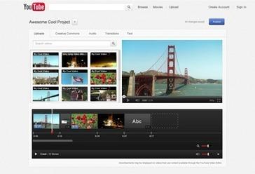 Video Editor - YouTube   Narzedzia do obrobki wideo   Scoop.it