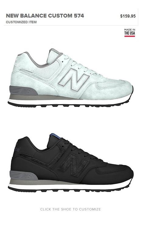 Limited Edition 574 Custom by @newbalance | #Design | Scoop.it
