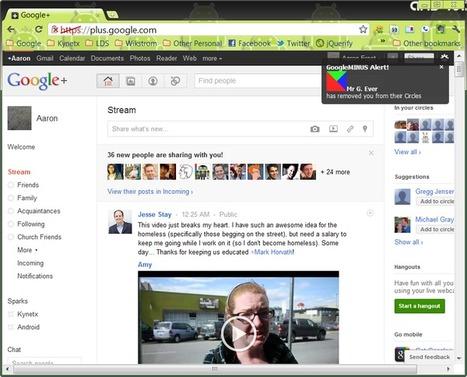 Découvrez qui vous exclut de Google+, Facebook et Twitter | Adopter Google+ | Scoop.it