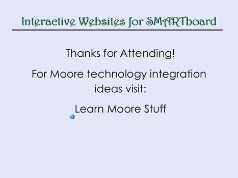 Interactive Sites for Your SMARTboard   SMART Board Integration   Scoop.it