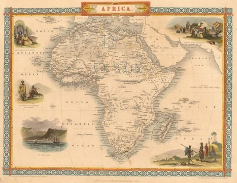 Evolution of the Map of Africa | GenealoNet | Scoop.it
